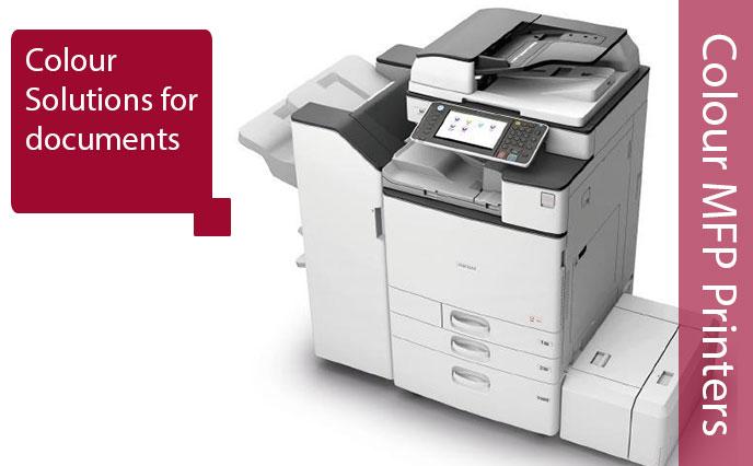 Colur Printer Based Ricoh MFP