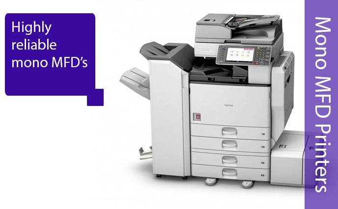 Mono Ricoh Multi Function Devices Printers