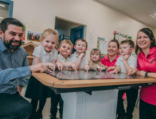 Kind hearted community help raise cash for high-tech children's table tablet