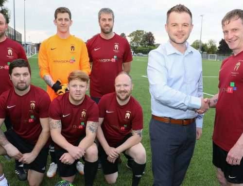 New strip for football dads chasing title win thanks to Wrexham IT services firm