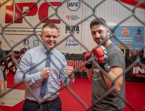 IT Engineer takes on charity cage fighting challenge
